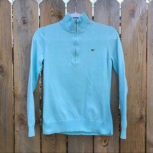 ⚡️Vineyard Vines | 1/4 Zip Up Mock Neck Sweater